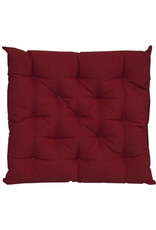 Craft Studio Canvas Reddy Red Chair Pad 40x40cm