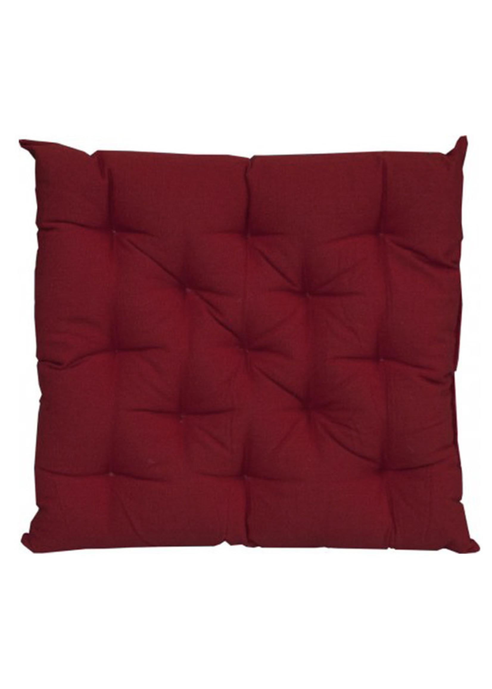Craft Studio Canvas Reddy Red Chair Pad 40x40cm