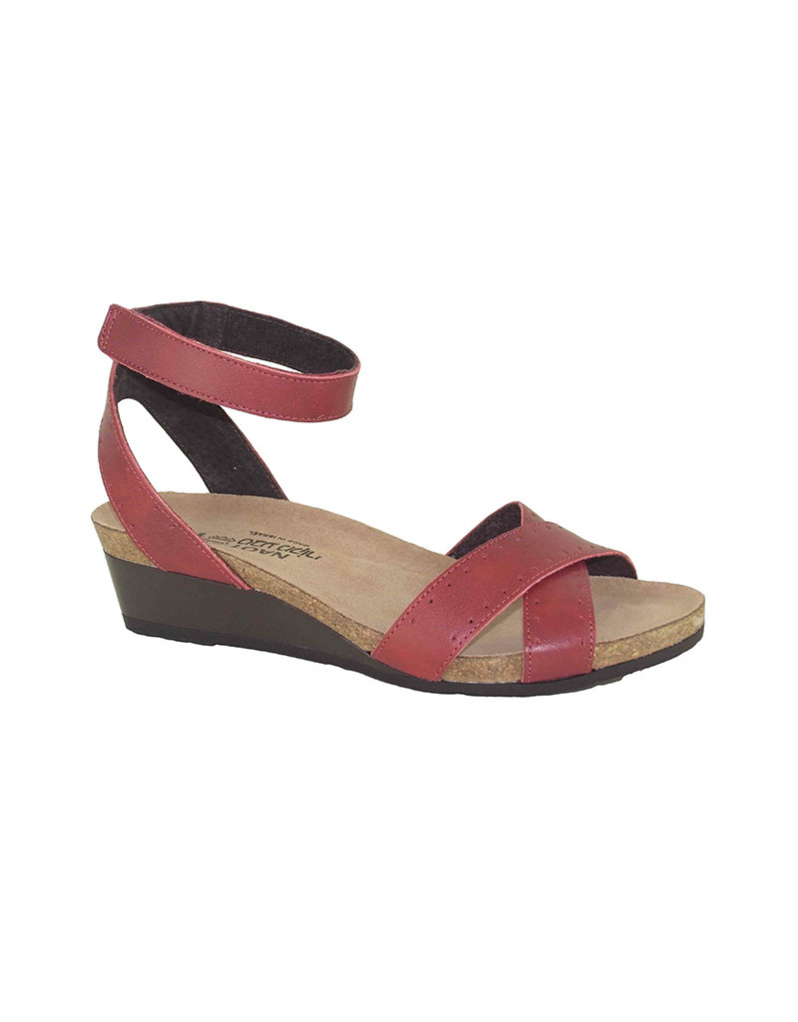 Naot Footwear Wand in Berry Red Combo