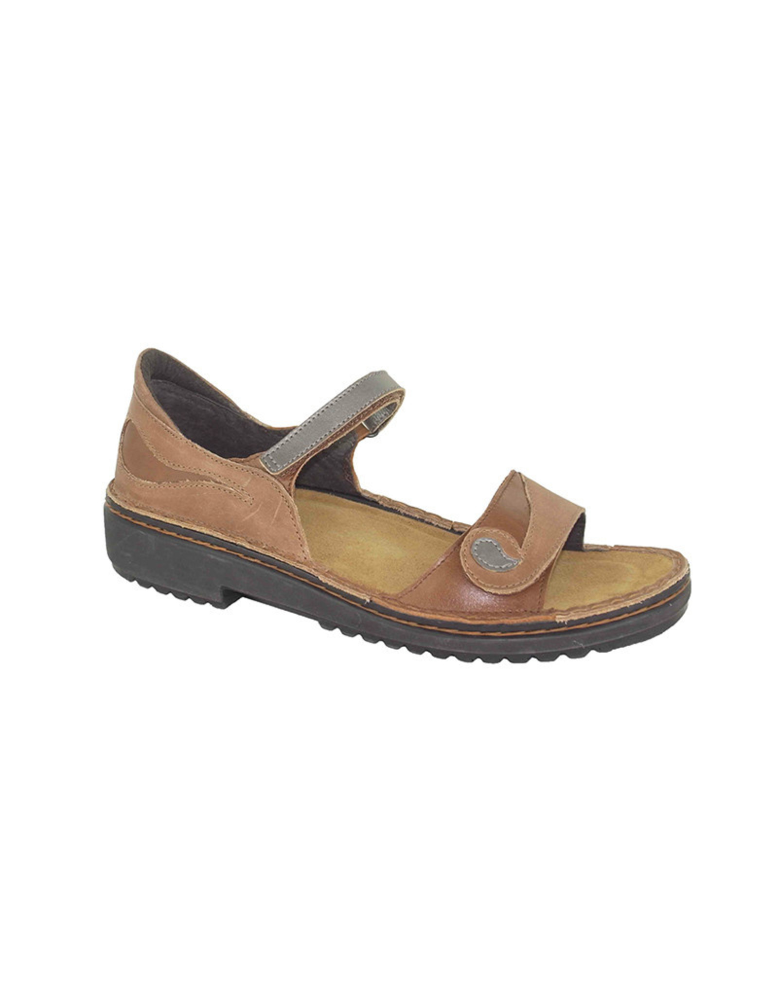 Naot Footwear Yolanda in Latte Brown Combo