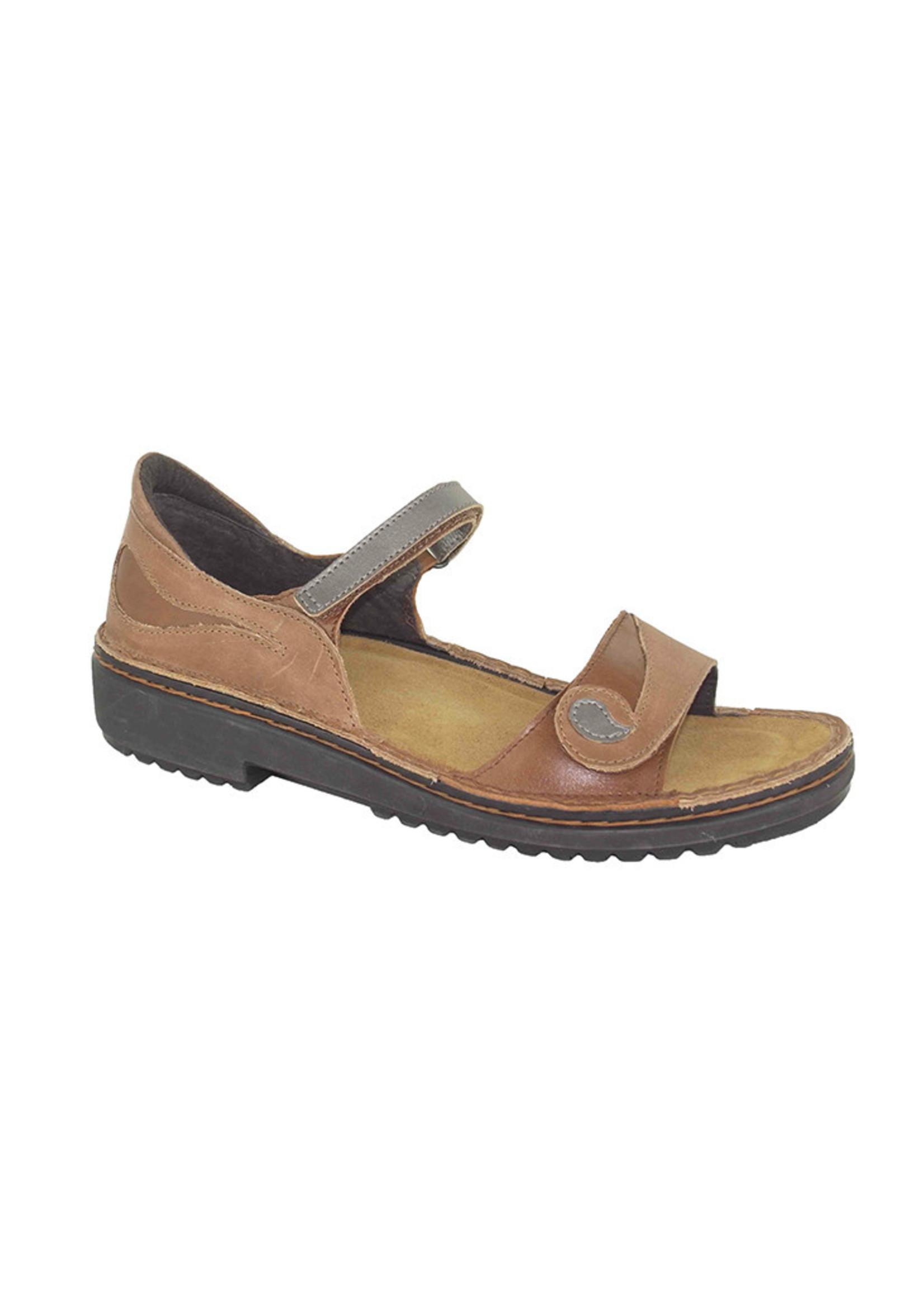 Naot Footwear Yolanda in Latte Brown Combo