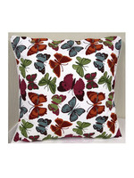 Craft Studio Butterfly Euro Cushion Cover 60x60cm