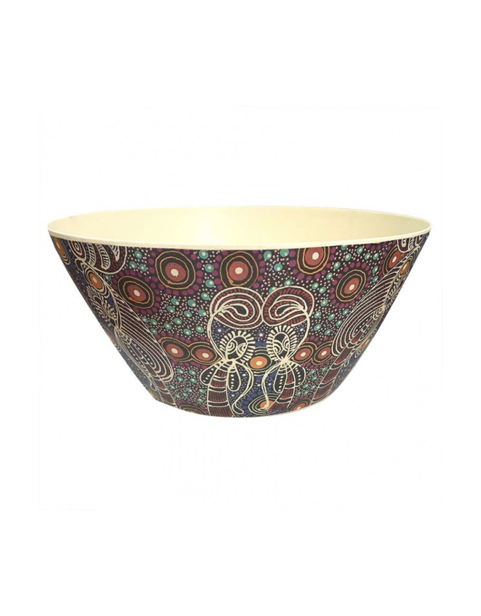 Utopia Large Bamboo Salad Bowl - Colleen Wallace