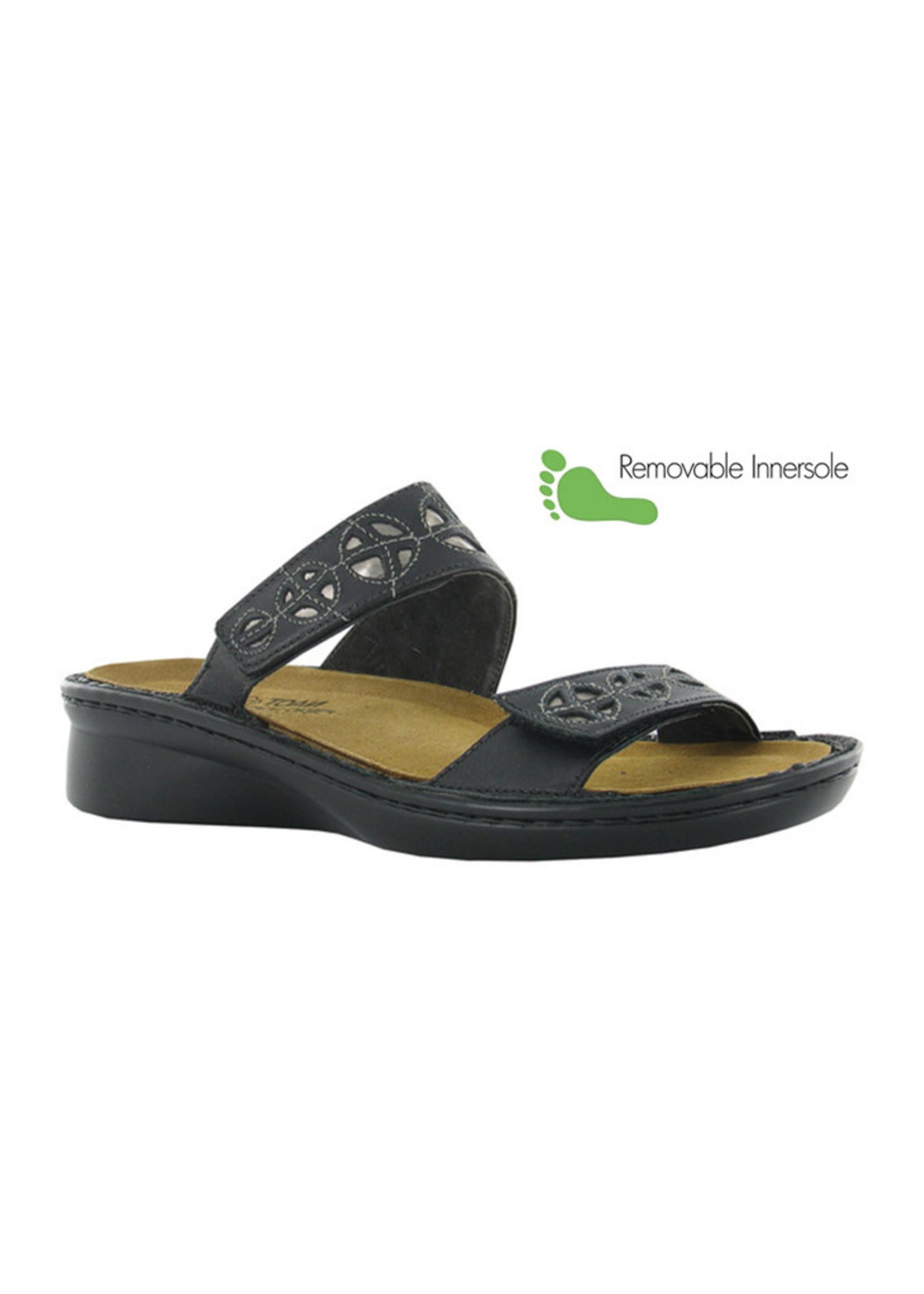 Naot Footwear Cornet in Black Combo