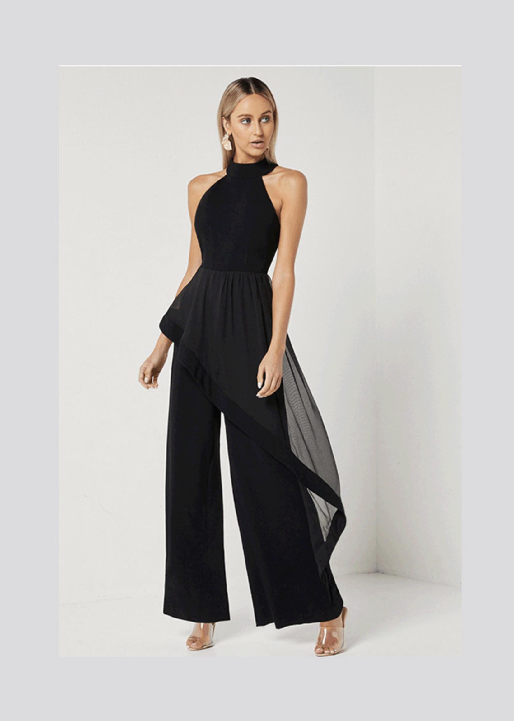 Elliatt Adeline Jumpsuit in Black