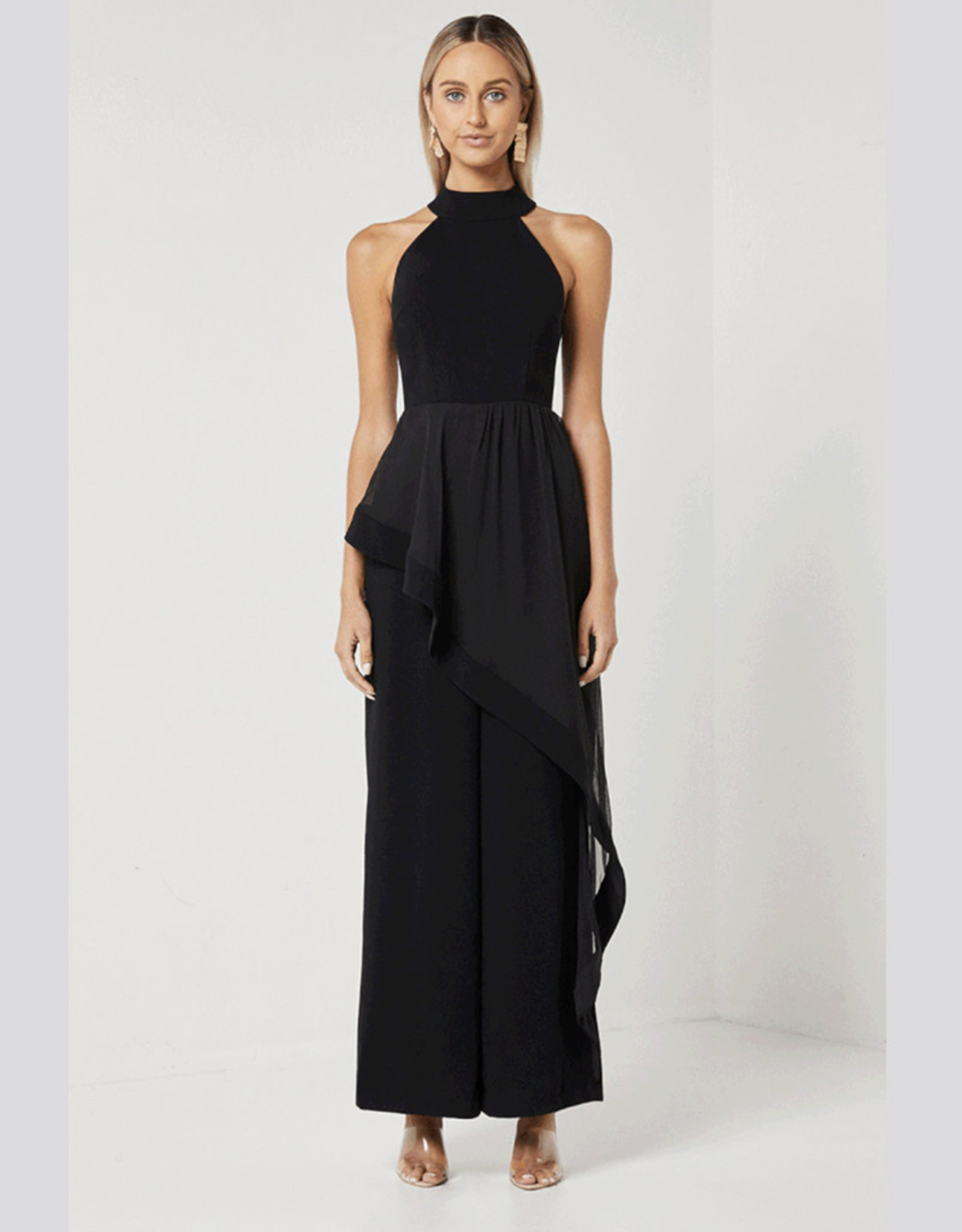 Elliatt Adeline Jumpsuit in Black