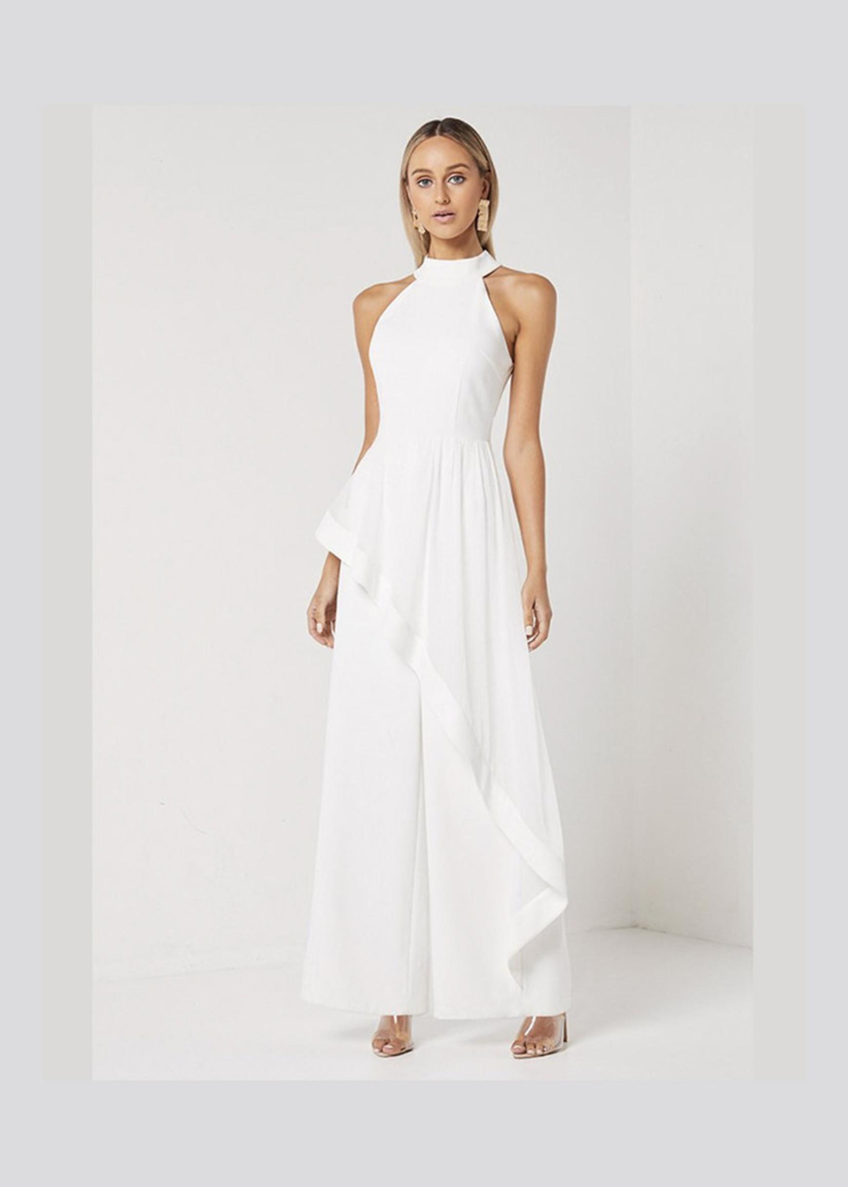 Elliatt Adeline Jumpsuit in White