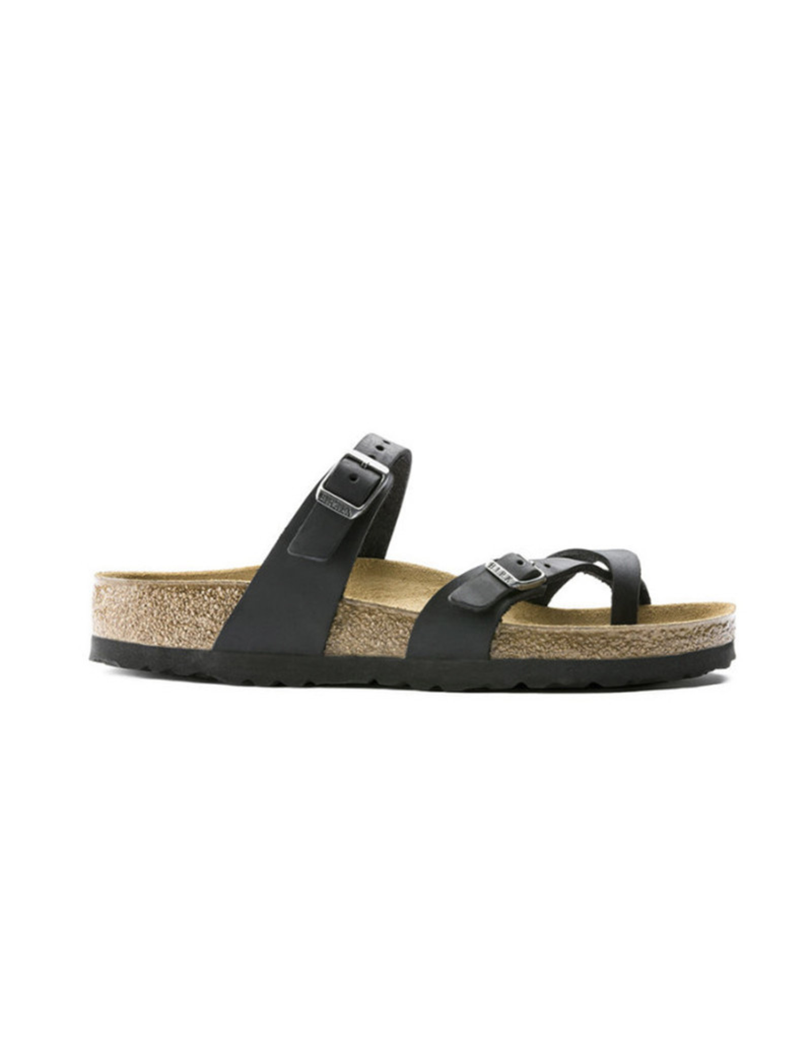 Birkenstock Mayari Natural Leather in Black