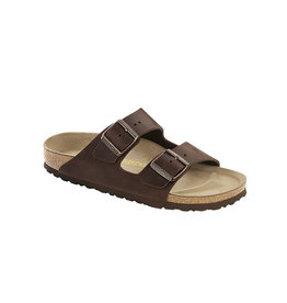 Birkenstock Arizona - NU Oiled Leather in Habana (Narrow)