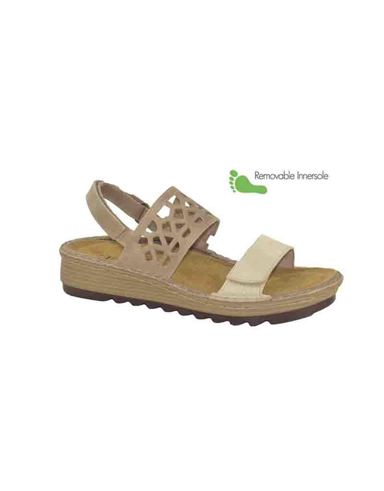 Naot Footwear Acacia in Gold Tread Khaki