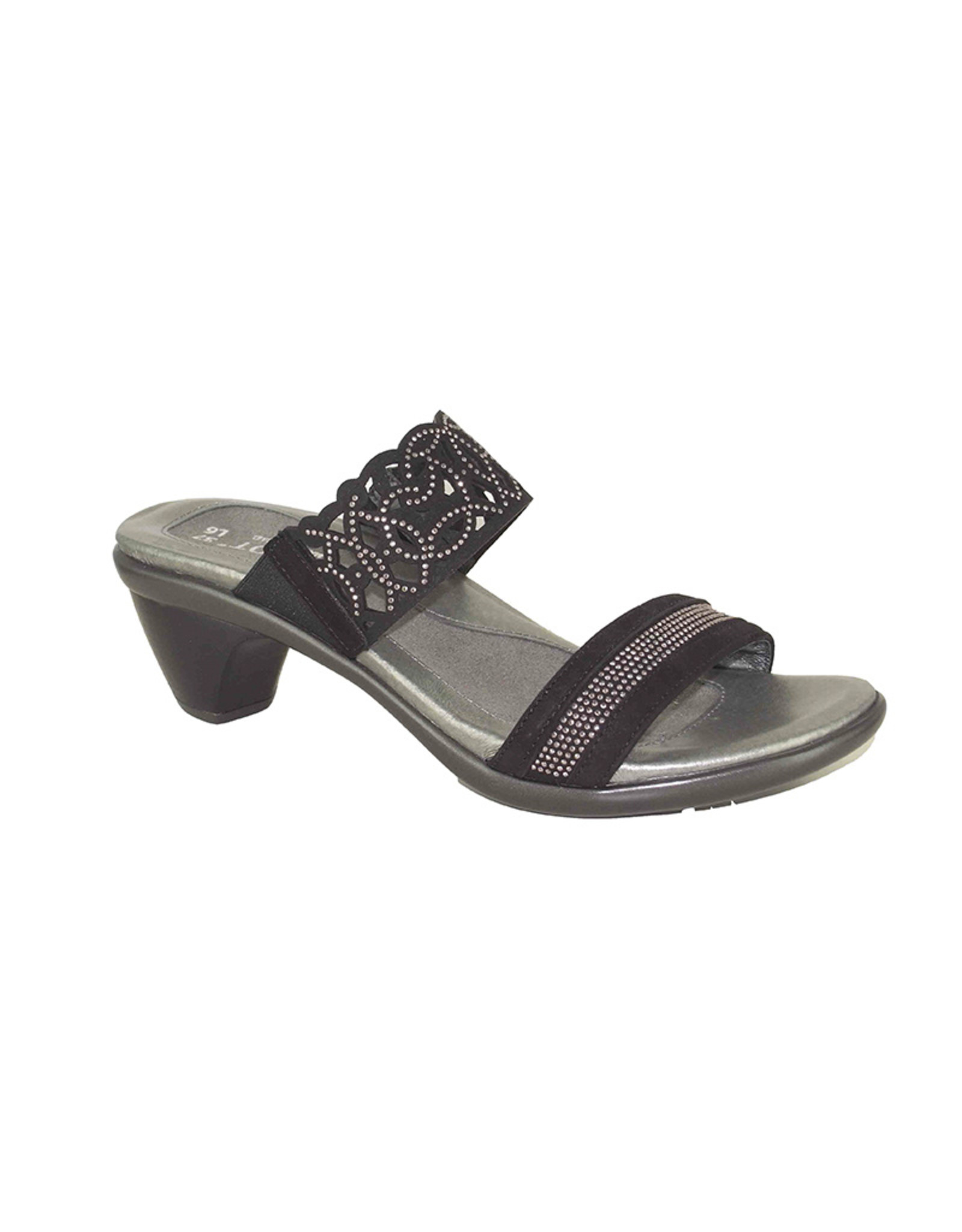 Naot Footwear Contempo in Black Velvet