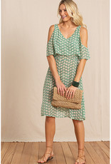 Totem Segera Dress in Warm Green