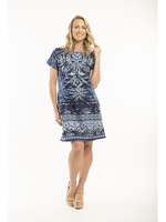 Orientique Andros Dress Print