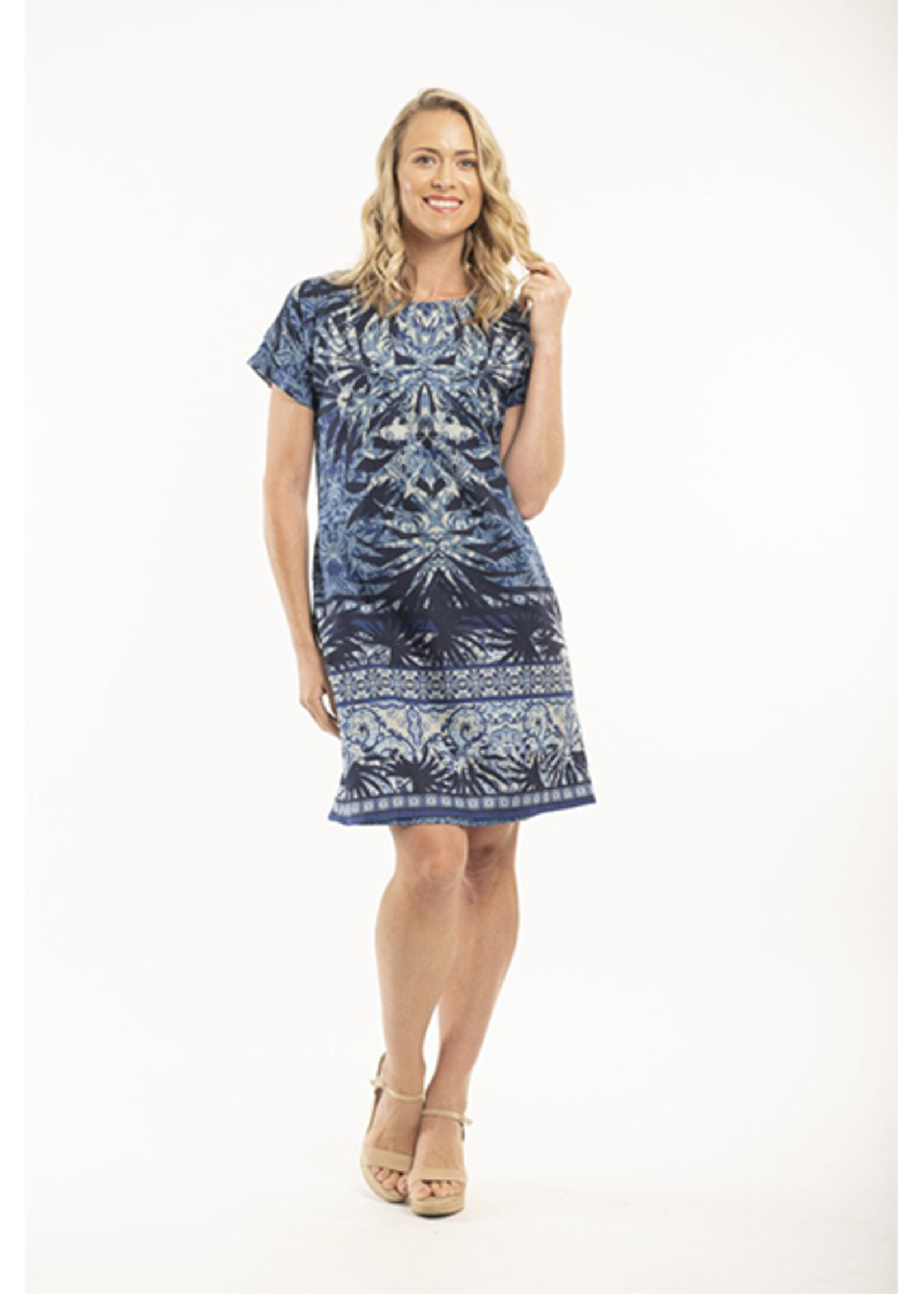 Orientique Andros Dress Print