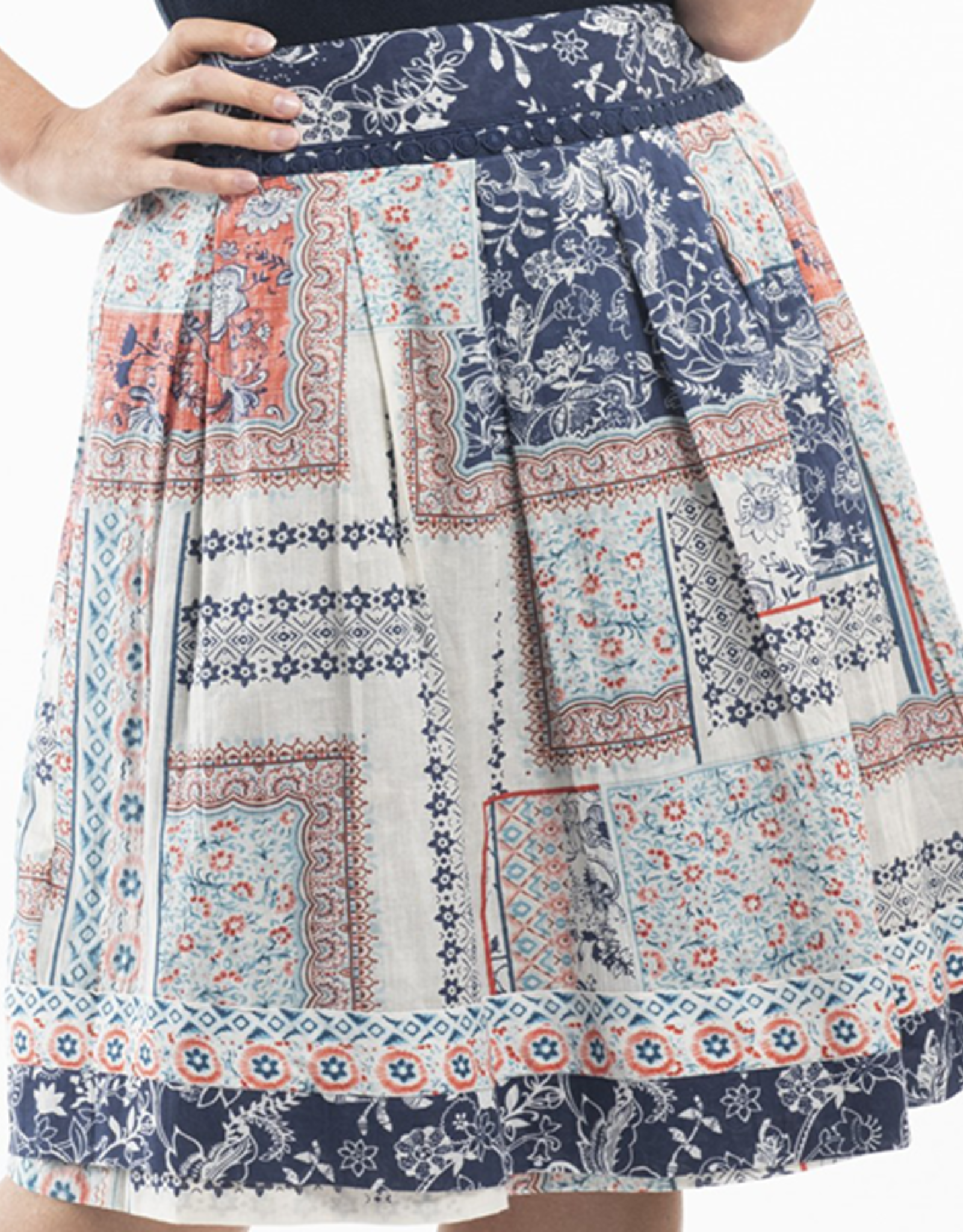 Orientique Ornos Skirt Print