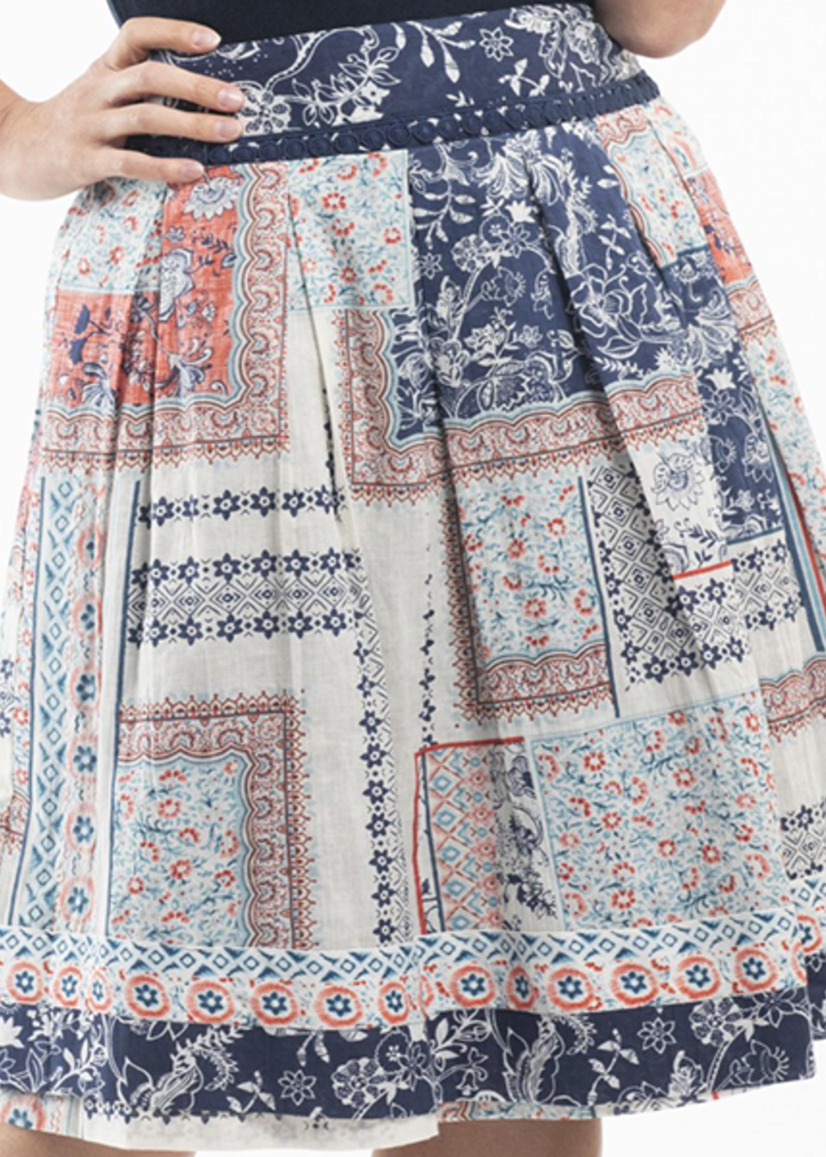 Orientique Ornos Skirt Print