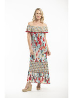 Orientique Kefalonia Dress Print