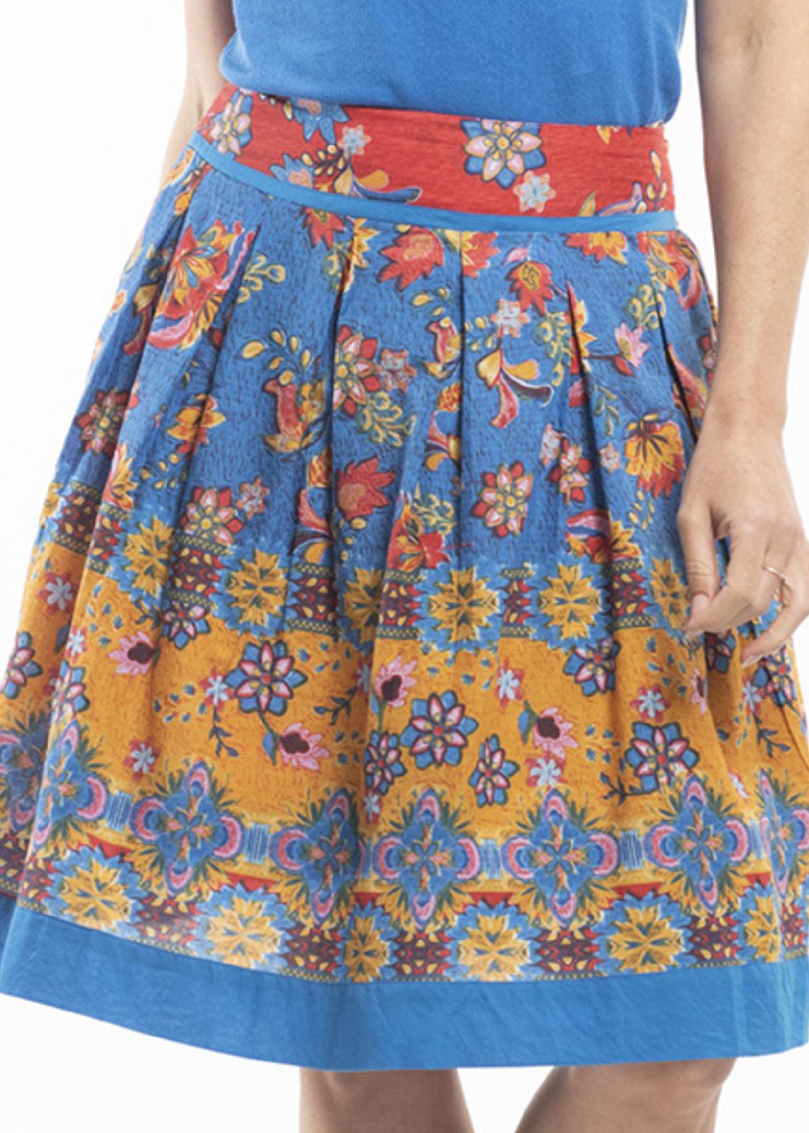 Orientique Kamares Skirt Print