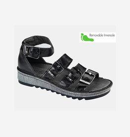 Naot Footwear Begonia in Black Madras