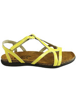 Naot Footwear Dorith in Yellow Patent