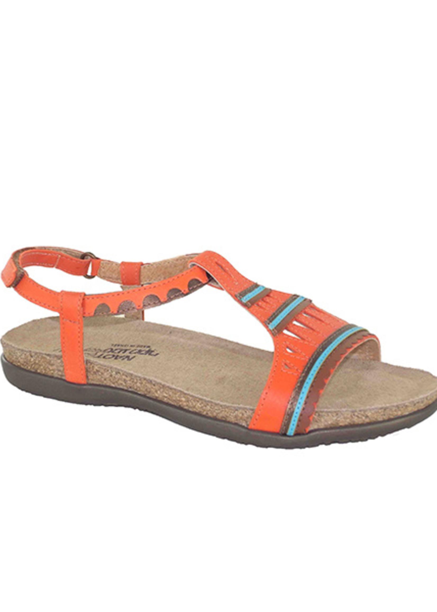 Naot Footwear Odelia in Orange Combo