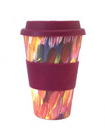 Utopia Bamboo Eco Coffee Cup 137 - Gloria Petyarre