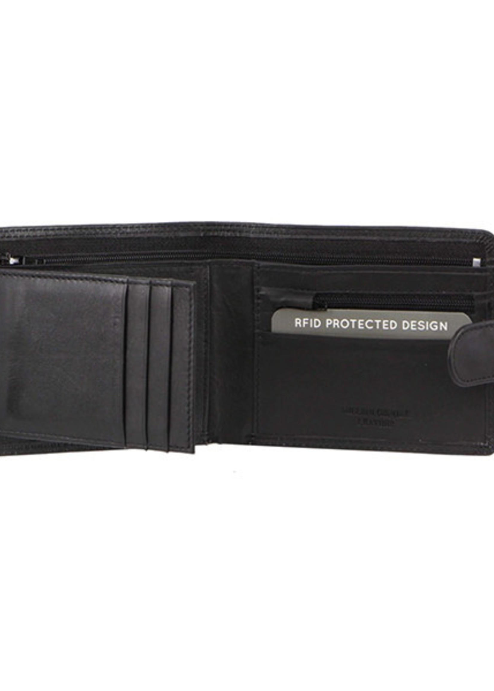 Milleni Men's Wallet - Black (C10541)