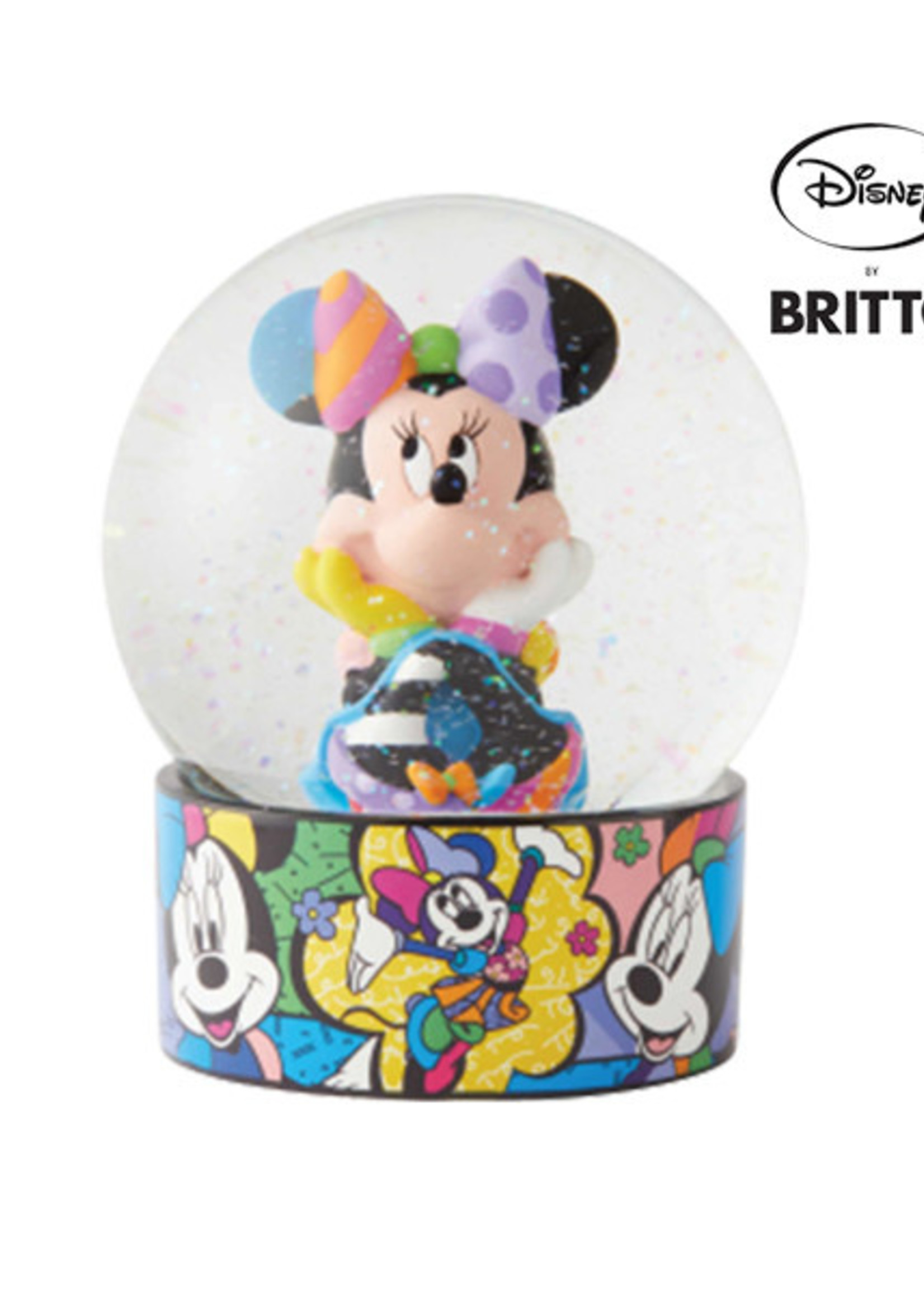 Britto Water Globe - Minnie Mouse