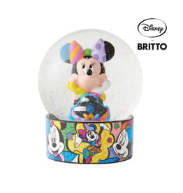 Britto Water Globe - Minnie Mouse