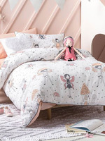 Linen House Hiccups SB QCS Enchanted Peach