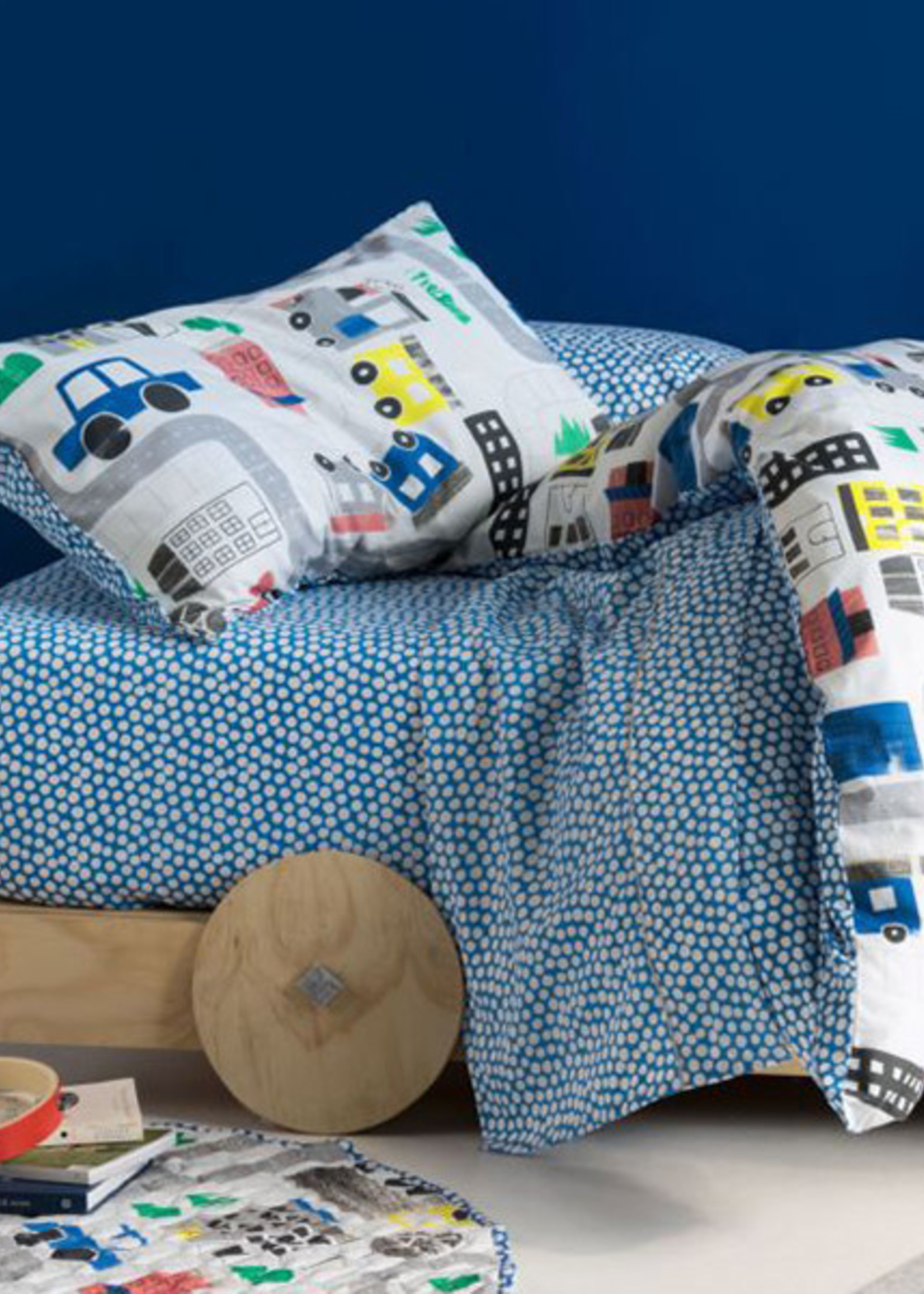 Linen House Hiccups SB QCS Townies Blue