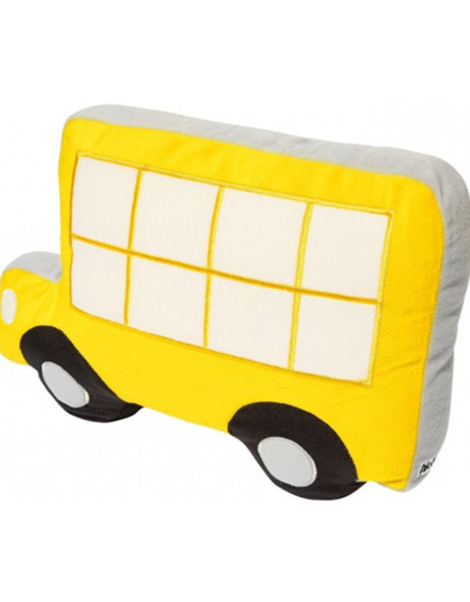 Linen House Hiccups Novelty Cushion Town Bus Yellow