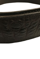 Crocodile & Stingray Products Crocodile Skin Belt - Brown