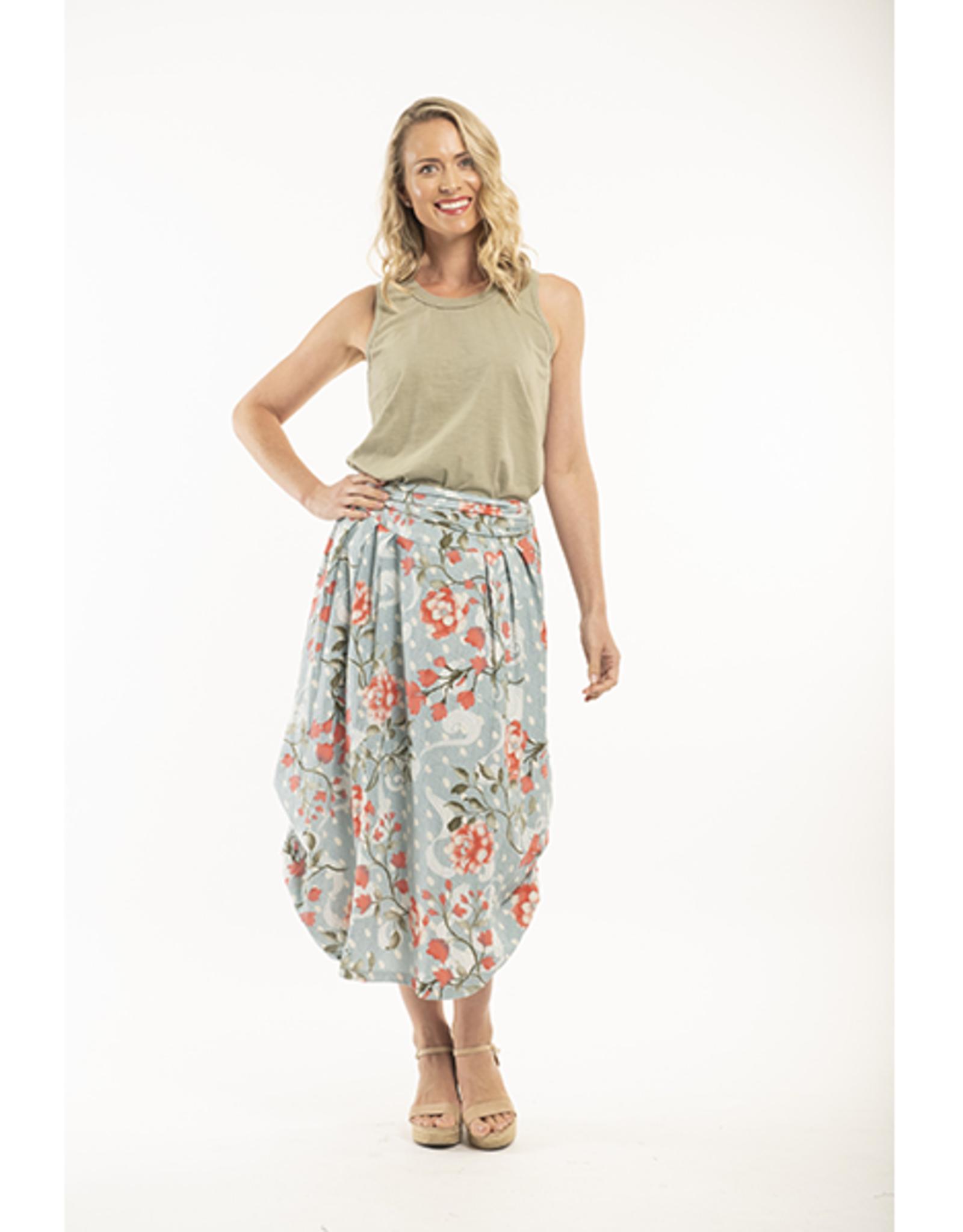Orientique Hydra Bubble Skirt