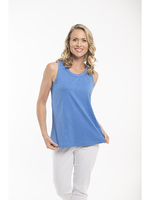 Orientique Essentials Cami 11309 in Blue