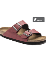Birkenstock Arizona - Birko-Flor Pull Up in Bordeaux (Vegan)