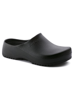 Birkenstock Super Birki Polyurethane (Birki-foam) in Black (Super Birki Removable Footbed )