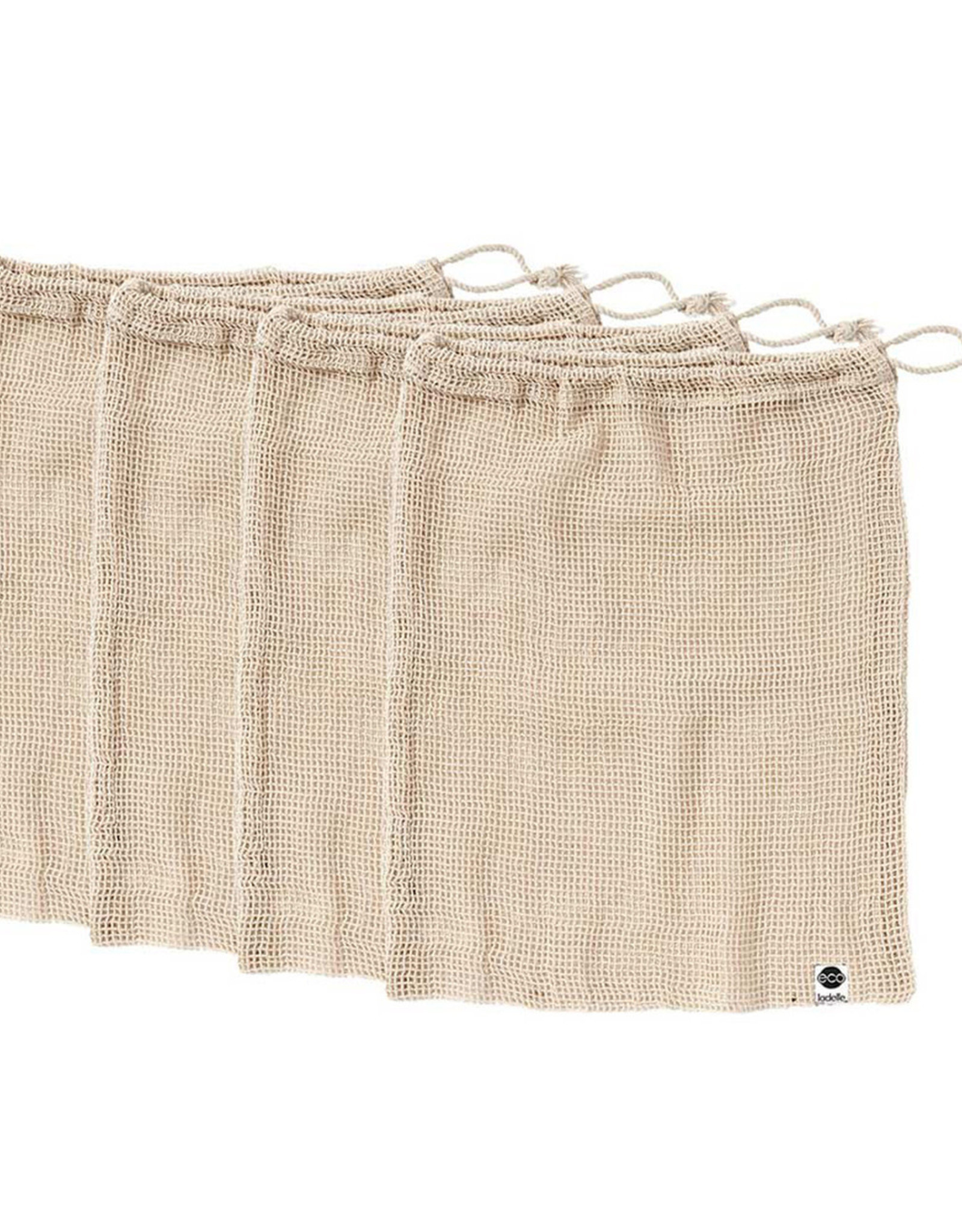Eco Recycled Natural Mesh Produce Bag Set