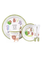 Go Wild 5 Piece Kids Dinner Set