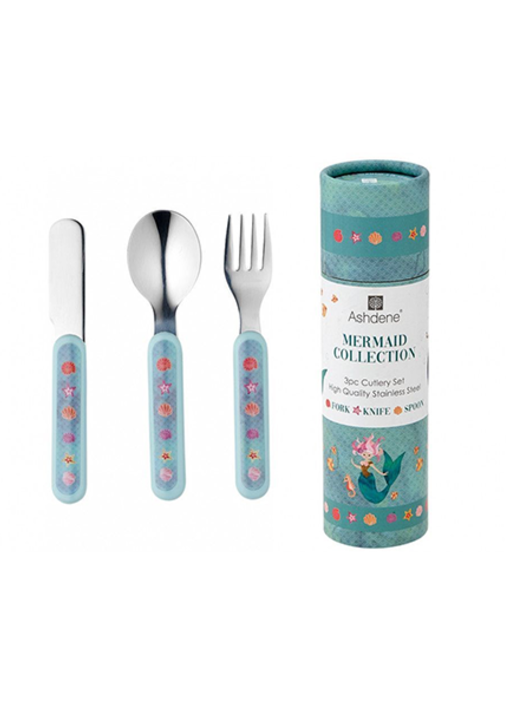 Mermaids 3 piece Cutlery Set