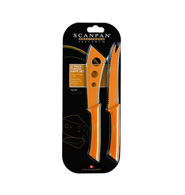Spectrum Cheese Knife Set - Orange
