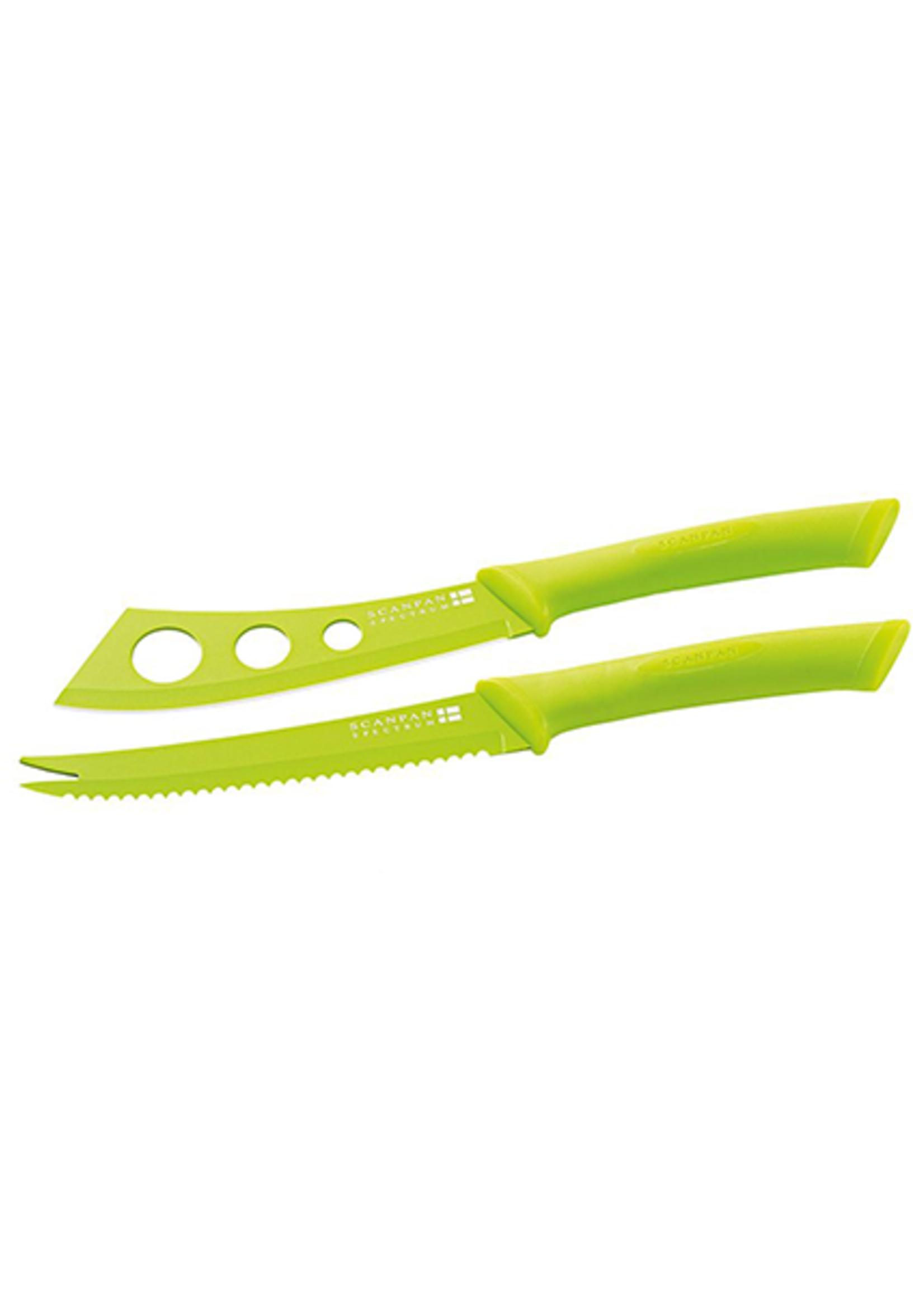 Spectrum Cheese Knife Set - Green