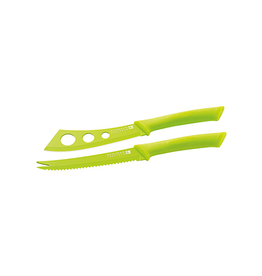 Spectrum Cheese Knife Set - Green
