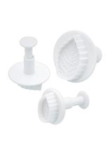 Avanti Homewares Leaf Fondant Plunger Cutter Set
