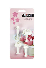 Avanti Homewares Rose Fondant Plunger Cutter Set