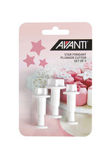 Avanti Homewares Star Fondant Cutter Set