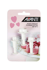 Avanti Homewares Heart Fondant Cutter Set