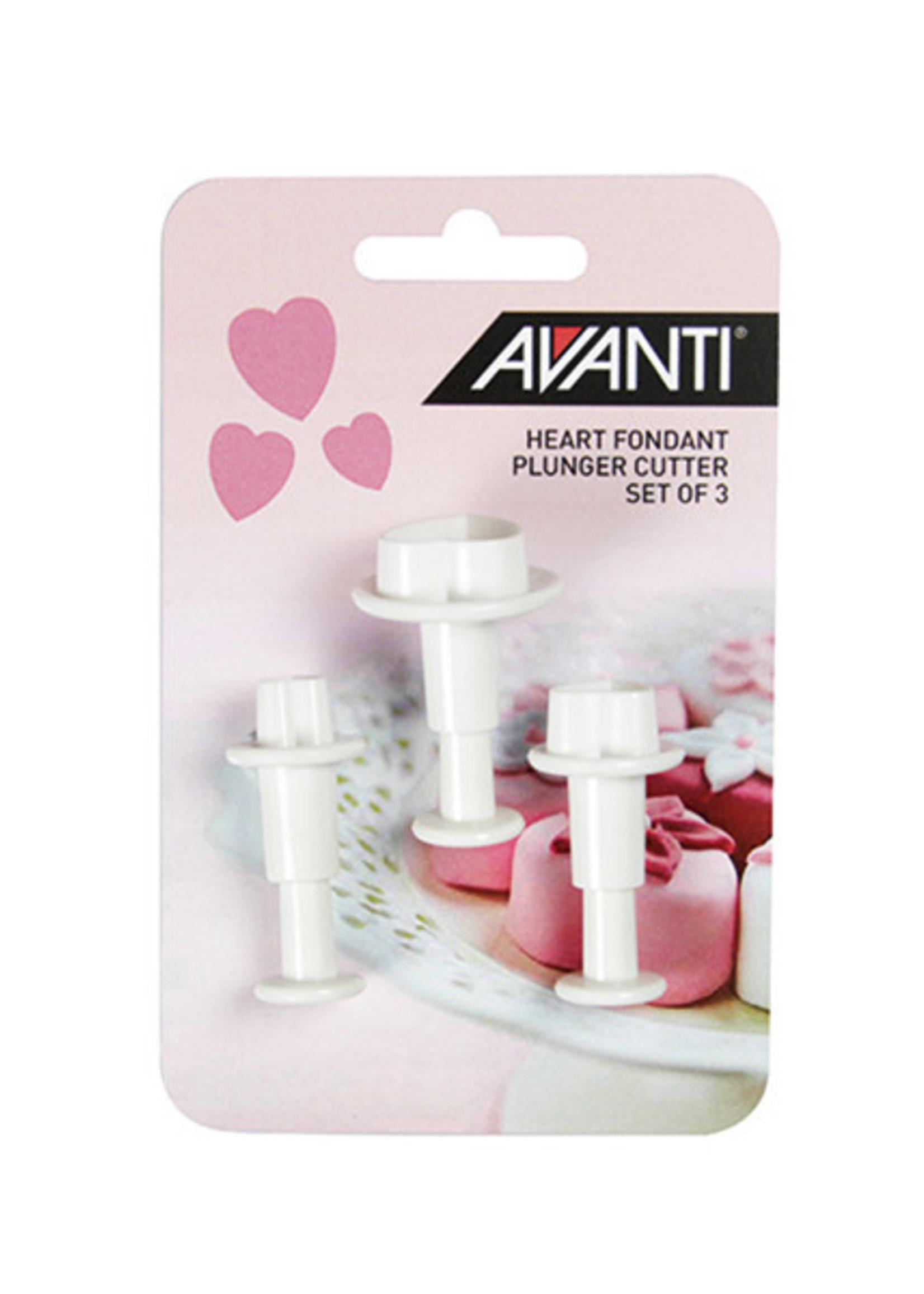 Avanti Homewares Heart Fondant Cutter Set