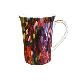 Utopia Leaves Mug - Gloria Petyarre