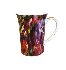 Utopia Leaves Mug - Gloria Petyarre